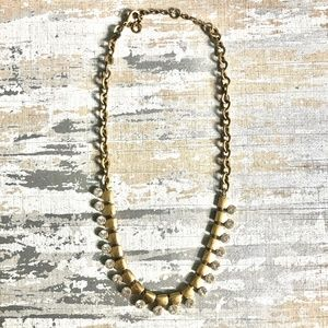 J. Crew Gold Statement Necklace